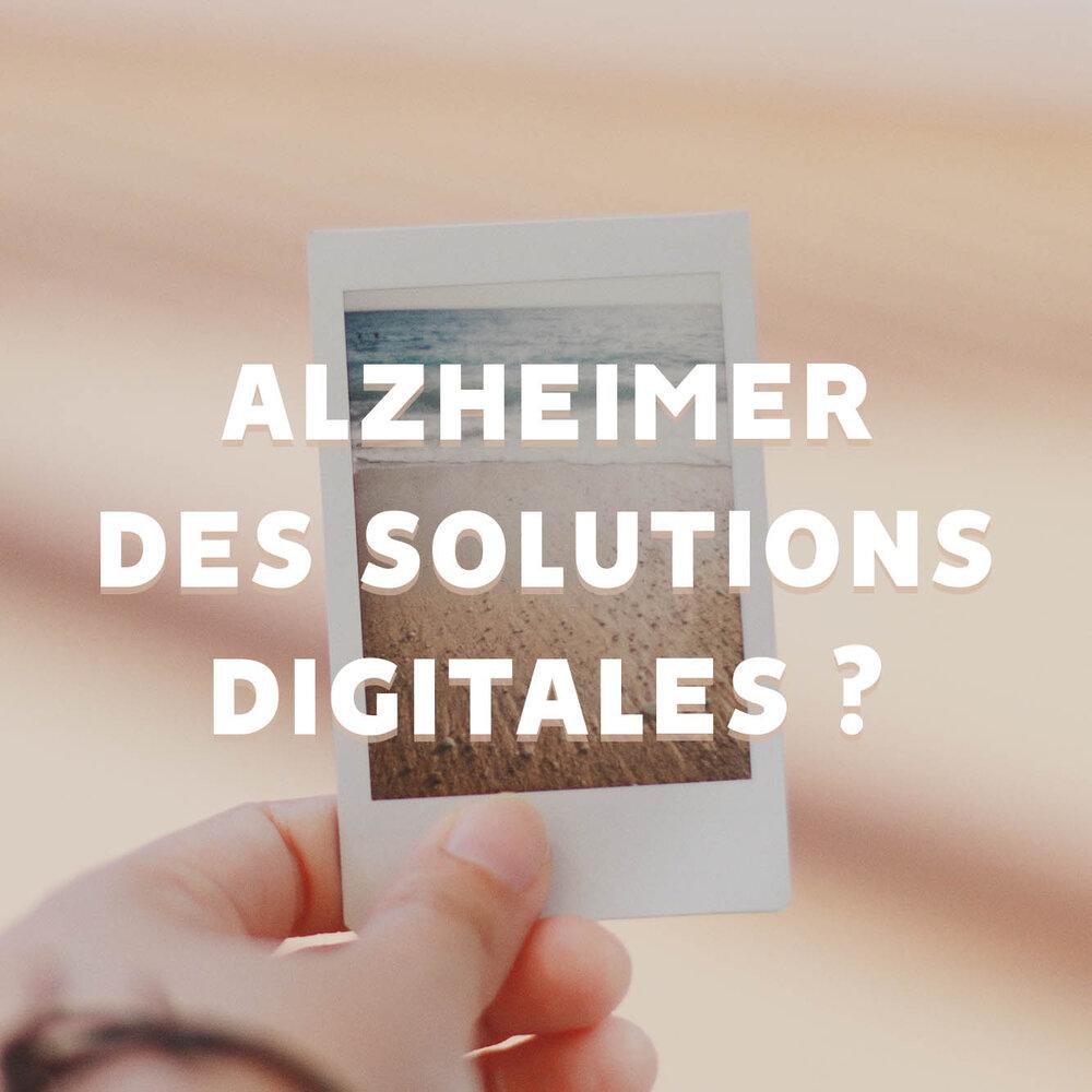 Article de blog : Alzheimer des solutions digitales ?