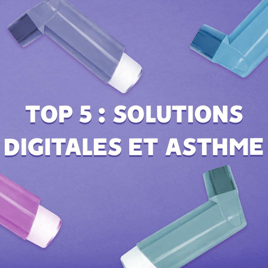 Article de blog : Top 5 des solutions digitales pour l'asthme