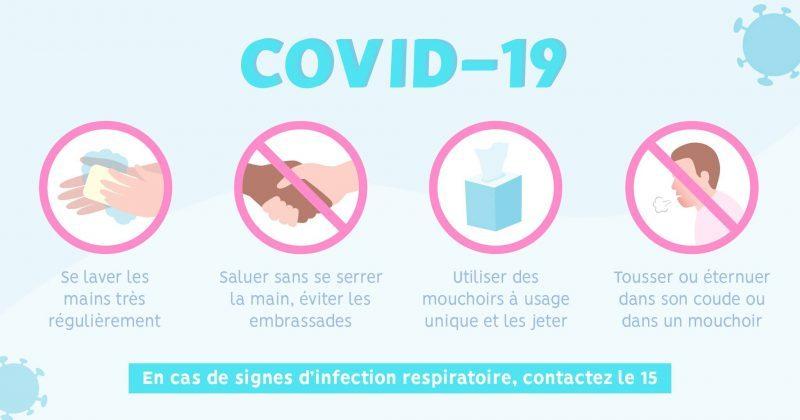 Covid-19-gestes barrières