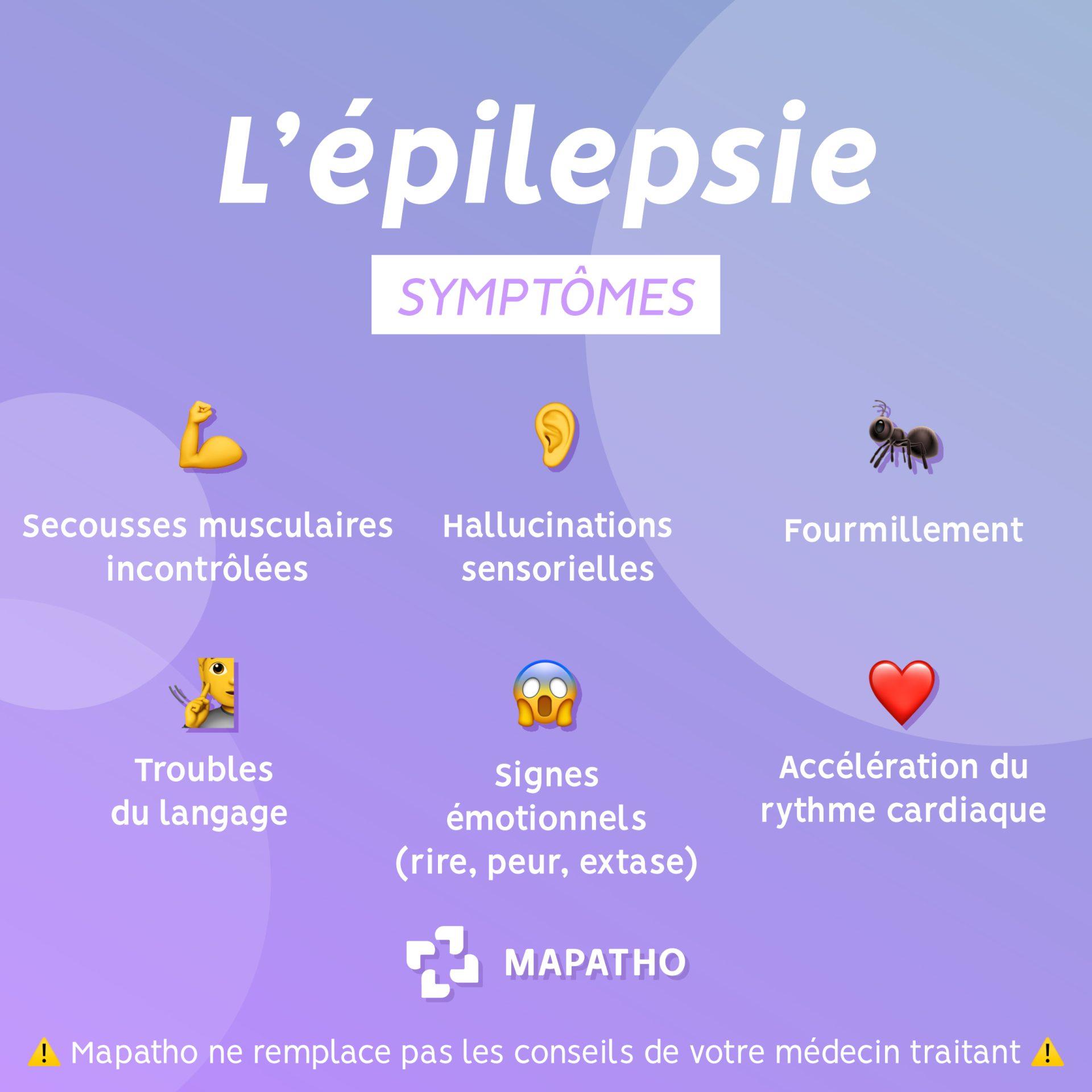 Les symptomes de l'épilepsie